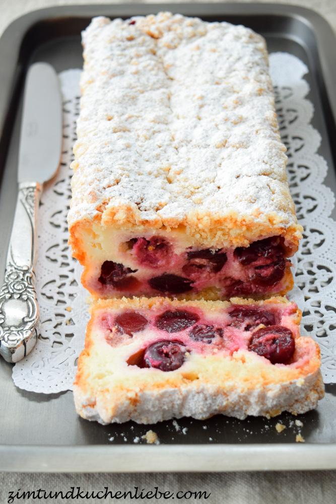 Kirschen Cake mit Streuseln-150616-2