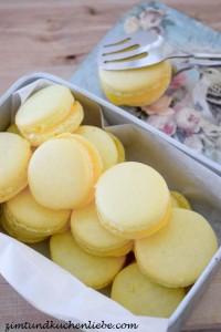 Zitronen Macarons