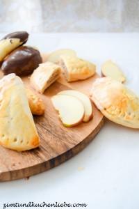 Kleine Apfel- & Schokotaschen