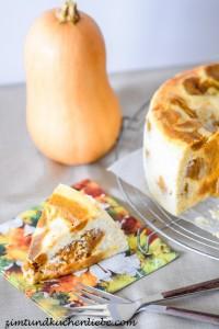 Kürbiskuchen-Cheesecake