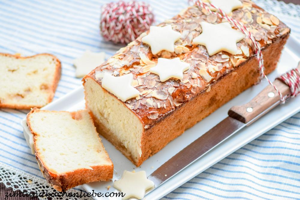 Dinkel-Marzipan-Brot