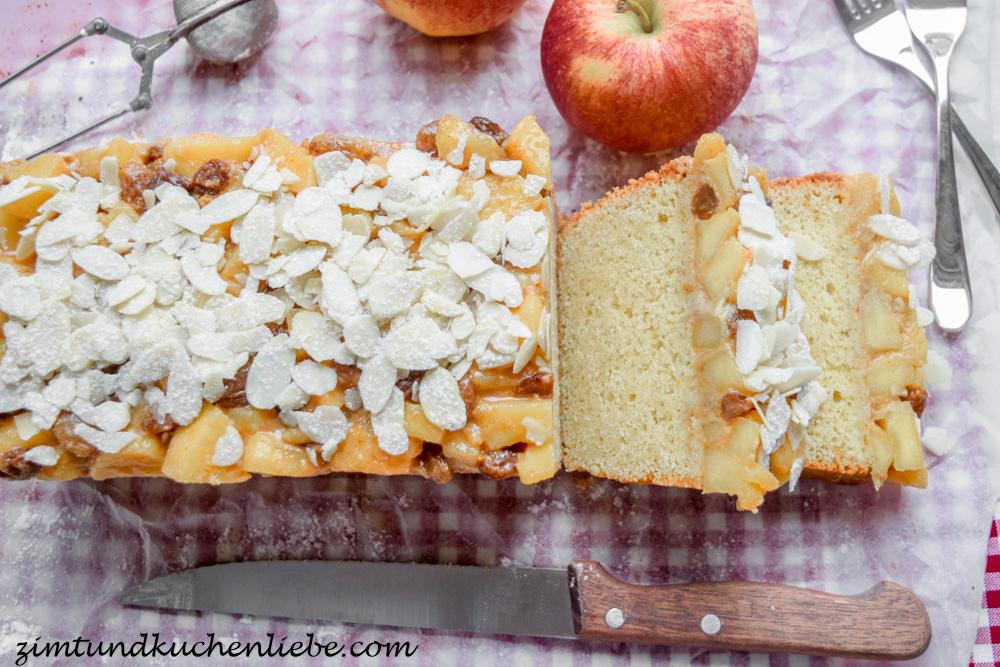 Bratapfel-Vanille-Kuchen