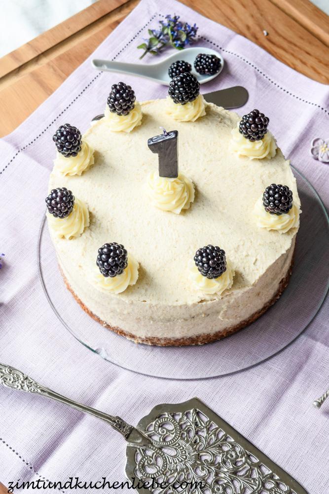 Cini Minis Zimt Torte mit Brombeeren
