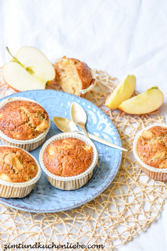 Apfel-Muffins #Healthy Food-160703-4