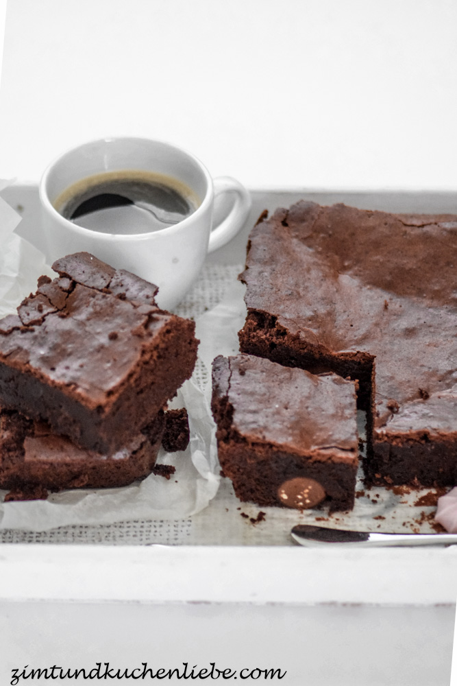 (Triple chocolate) Brownies