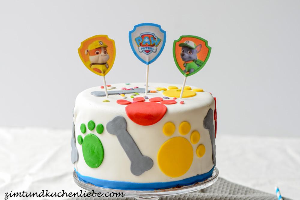 Paw Patrol Schoko Orangen Torte