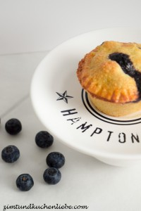Mini Blaubeer Pie